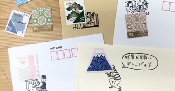 思わず手紙が書きたくなっちゃう!「切手のこびと」でオモシロ手紙を送ってみよう