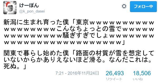 【東京、雪に弱すぎ】上京して気づいた「関東で暮らし始めた僕」シリーズに笑う 9選