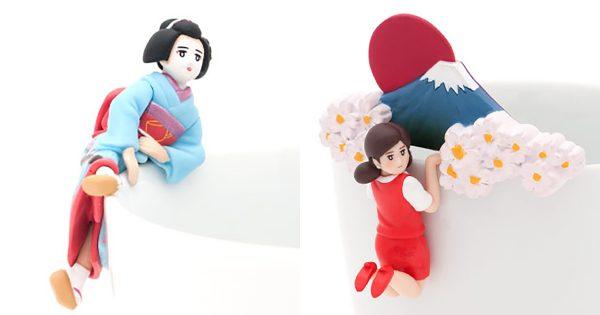 ついに海外進出か?! フチ子が全身全霊で「日本の文化」を紹介するシリーズが登場