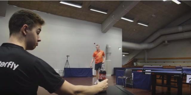 卓球 スゴ技1