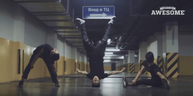 柔軟ダンス3
