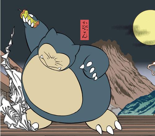 ポケモン浮世絵7