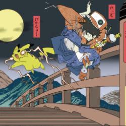 ポケモン浮世絵8