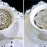 たまにはプチ贅沢したい!コーヒーにのせるレース・シュガーで特別なひと時を