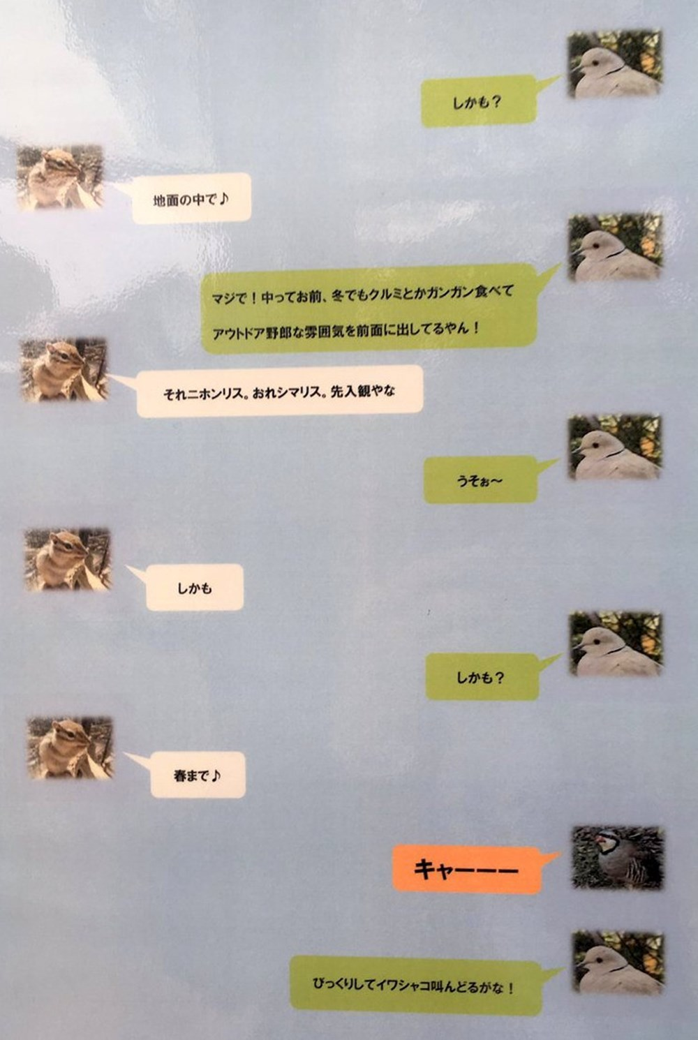 【ドロドロの家系図に、めっちゃ逃げるリス】 神戸王子動物園が遊び心に溢れてる