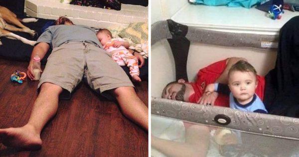 仕事も育児もお疲れさま!愛すべきお父さんたちの電池が切れた瞬間11選
