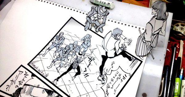 銭形警部がんばれ(笑) ついにルパン一味が漫画の世界からも脱出を試みる?!