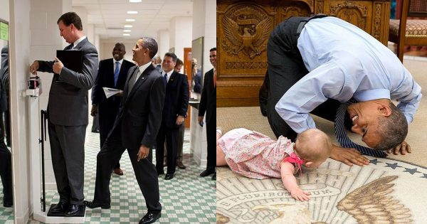 【意外にお茶目】 専属カメラマンが撮影したオバマ元大統領の「素の姿」が超微笑ましい