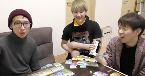 【目指せ100万】人気YouTuberヒカルがボロ負けしたボードゲーム「街コロ」って何?