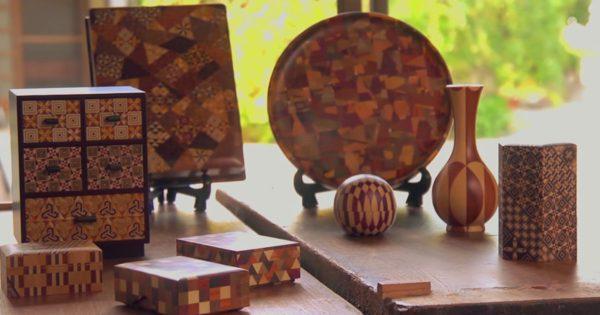 これ全部木で作ってるの!? 日本の職人が作り出す「箱根寄木細工」海外が仰天