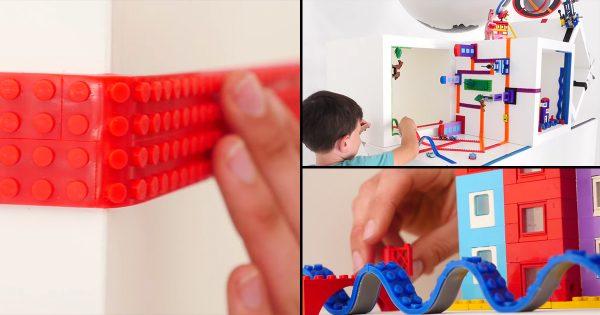 子どもから大人まで欲しくなる!アレンジの可能性無限大の「レゴテープ」がかわいすぎ