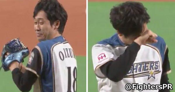 「俳優、そして◯◯」日ハムの始球式に登板した大泉洋、予想外な紹介をされファン爆笑