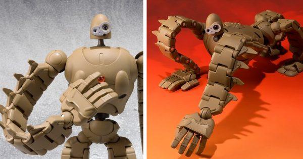 ラピュタの名場面が蘇る!「ロボット兵」の可動式フィギュアが胸アツ