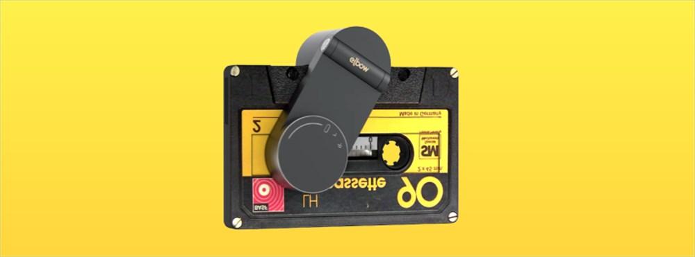 カムバック!押入れのカセットテープ!新発想のポータブルプレーヤー「ELBOW」が素敵