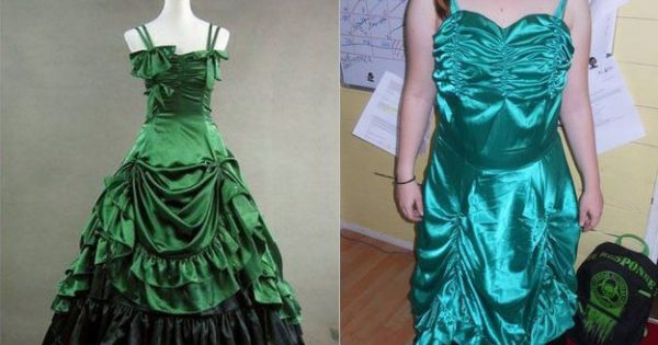 これじゃパーティーに行けない!通販でドレスを買ったら失敗しちゃった12選