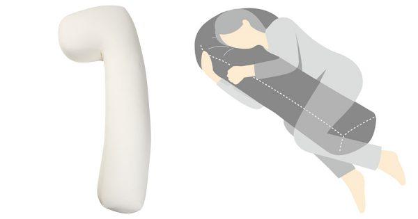 また人がダメになる!胎児型で寝る人の「首が痛くなる問題」を解決する最高な抱き枕