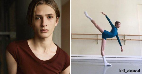 脚なっが!世にも美しい「イケメン・バレエダンサー」の妖艶な姿に釘付け