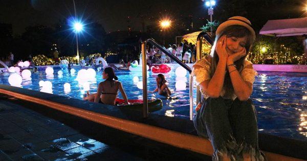 テーマはナイトサーカス!CanCamプロデュースのナイトプールに行ってみた!
