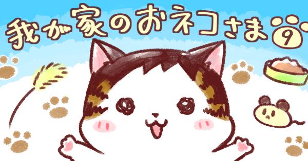 【トイレは落ち着いてできない】我が家のおネコさま  第9話