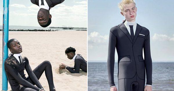 """海でも""""デキる男""""でいたいあなたへ。どう見てもビジネスマンなビーチウェアが爆誕"""