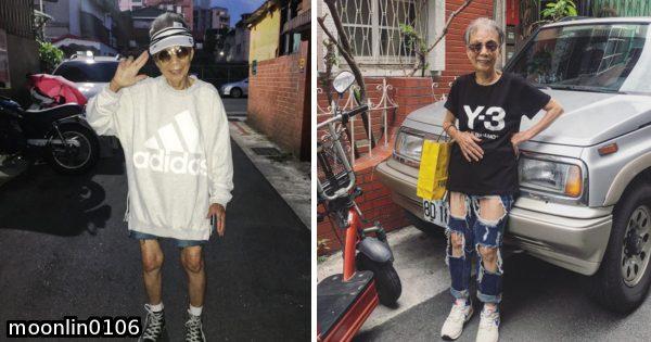 本当に88歳!? 台湾のおばあちゃんのファッションが若さにみち溢れていると話題に