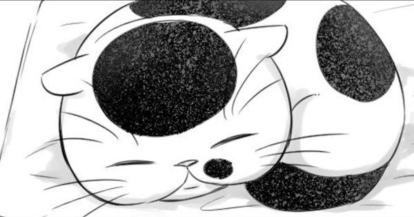 おじさまと猫第7話。「君はここにいて幸せか?」おじさまの苦悩にふくまるの答えは。
