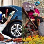 ズコォォォー!! ダイナミックな転倒シーンを撮影するイタリアの写真家が攻めすぎ