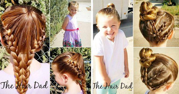 「僕と娘を繋ぐ素晴らしい方法」あるシングルファザーが娘のヘアメイクを極めた理由