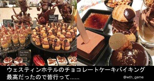 チョコレート好きにはたまらない! ホテルのチョコ食べ放題が天国すぎる