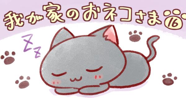 【とってこーい/そうじ機】我が家のおネコさま 第16話