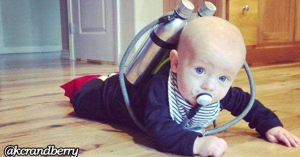 親の愛情が詰まってる!赤ちゃんのアイデア満載コスプレに癒やされる12選