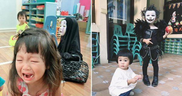 今年のハロウィンはこの子で優勝!カオナシで注目を集めた女の子が今度は「リューク」で話題に