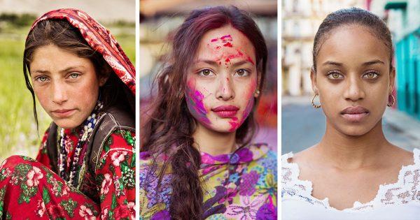 あなたはどの美女に惹かれる?平和を訴え「世界各国の女性」を撮り歩く活動に心震える