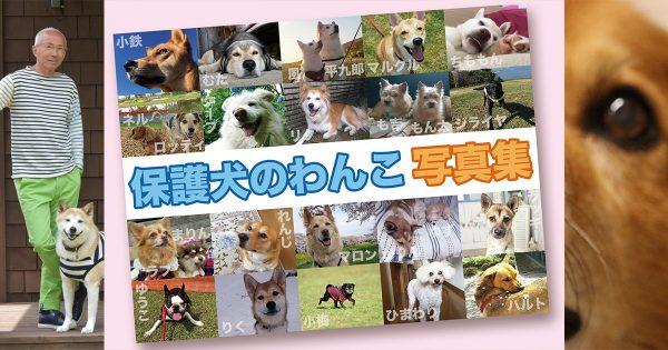 【知ってほしい、保護犬のこと】ある団体が企画するわんこ写真集プロジェクト
