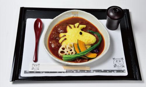 錦_ウッドストック-京風ハヤシライス1250円(税別)_お食事