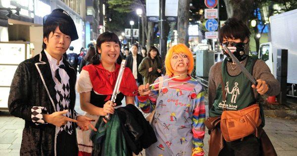 【ハロウィン×清掃活動】とある学生チームによる仮装行列が素敵すぎる