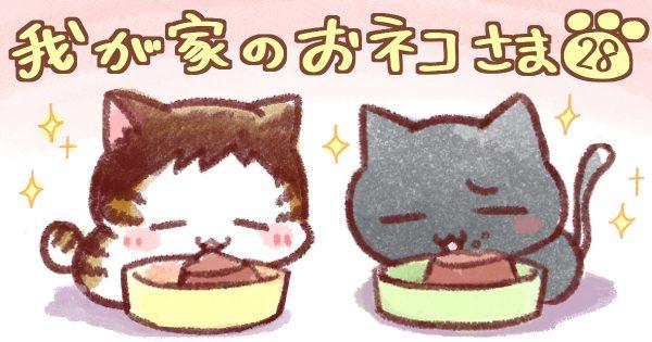 【ちゅるちゅるメシ/パブロフの猫】我が家のおネコさま 第28話