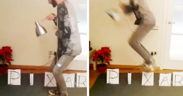 わずか8秒の動画が世界中で拡散!ピクサーの「あのオープニング」を実写化する強者現る