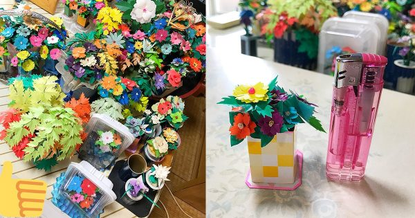おじいちゃん(76歳)が作るミニチュア造花!その細かさがマジでスゴい