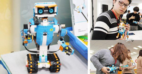 大人もハマる!プログラミングで自由に動く『レゴ® ブースト』の衝撃を体験してみた