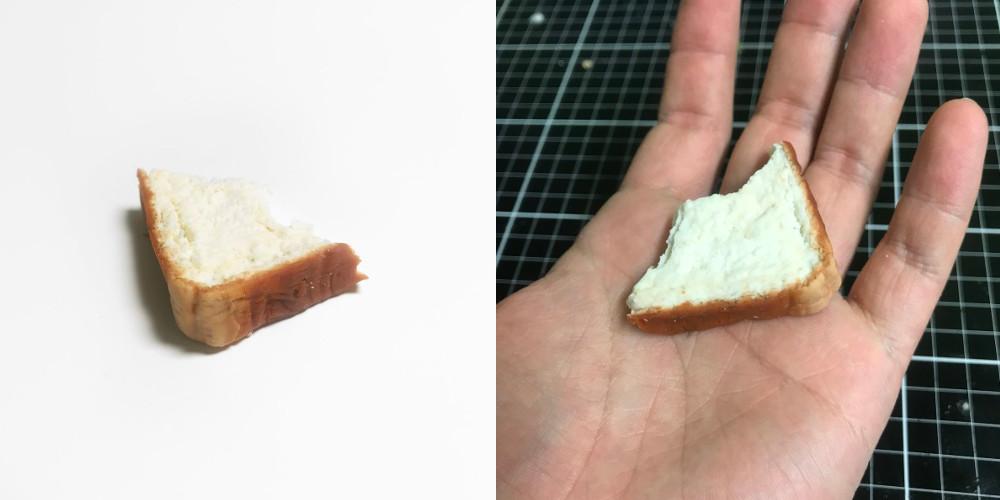 食べかけのパン