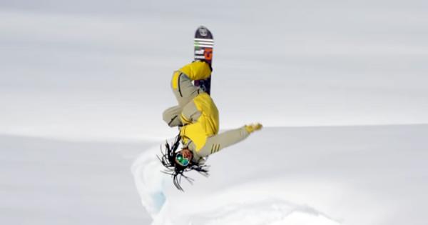 自然の雪山をスノボで滑り降りる!国母和宏のスーパープレイに世界が注目!