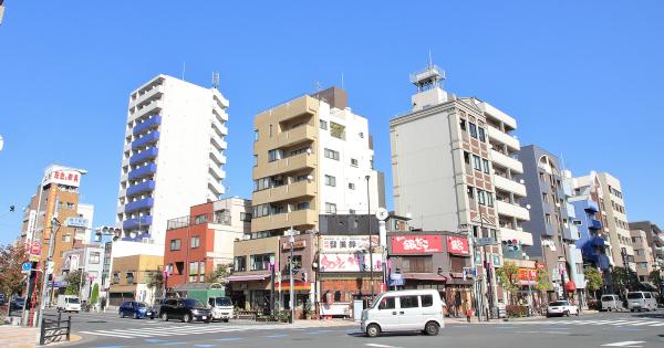 江東区内の駅付近犯罪発生件数ランキングTOP5