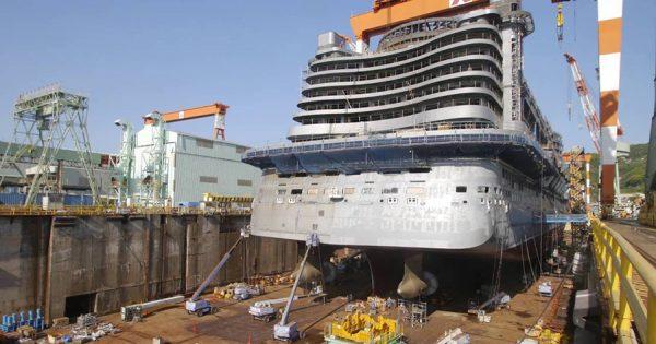 目が離せない!日本生まれの豪華客船「アイーダ・プリマ」を追ったタイムラプス映像