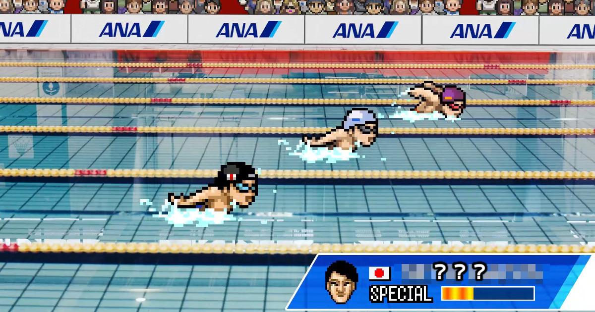 この選手が誰だかわかりますか?もしも、東京2020オリンピック・パラリンピックをドット絵ゲームにしたら