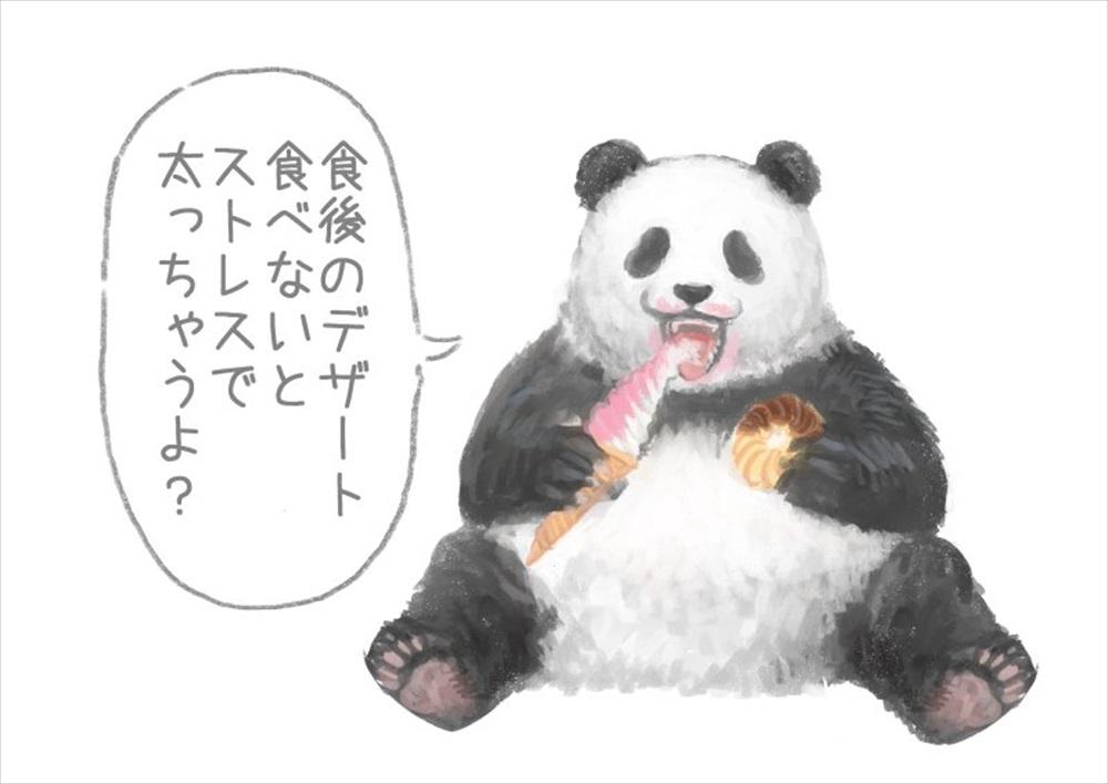 食後にも悪いこと言うパンダ3_R