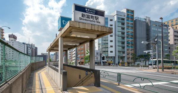 中央区内の駅付近犯罪発生件数ランキングTOP5
