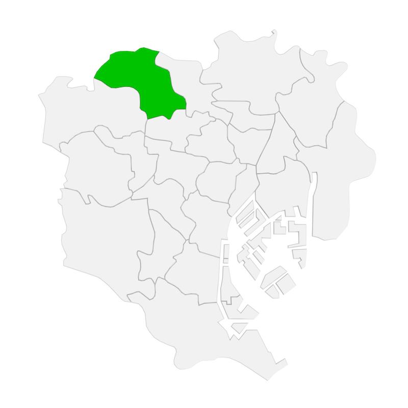 板橋区地図