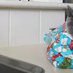 「何か包まれてるニャン……」猫のプレゼント用ラッピング講座!