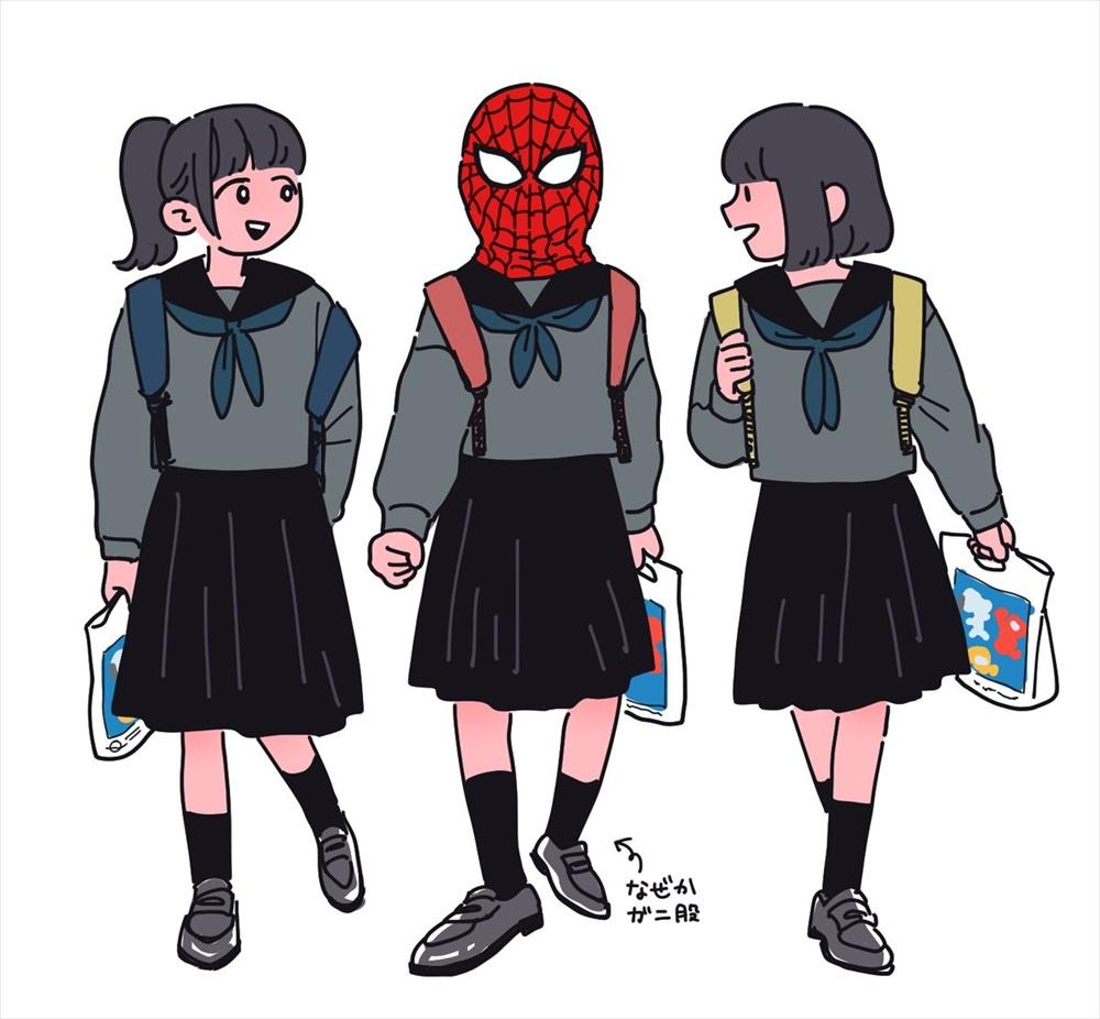 スパイダー女子高生